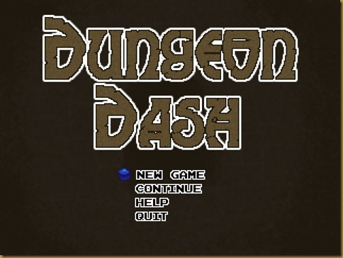 Dungeon Dashタイトル