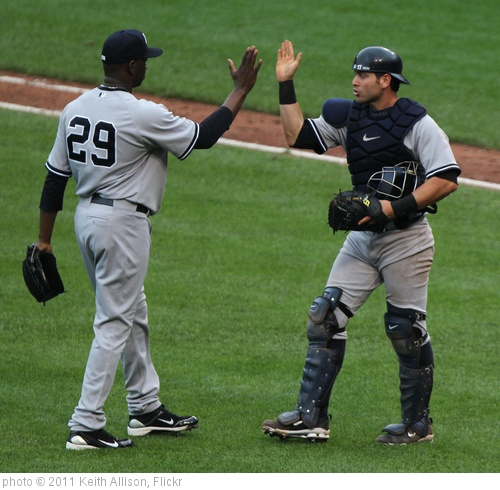 'Rafael Soriano, Francisco Cervelli' photo (c) 2011, Keith Allison - license: http://creativecommons.org/licenses/by-sa/2.0/