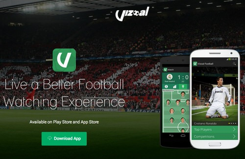 Vizoal football live watching ios