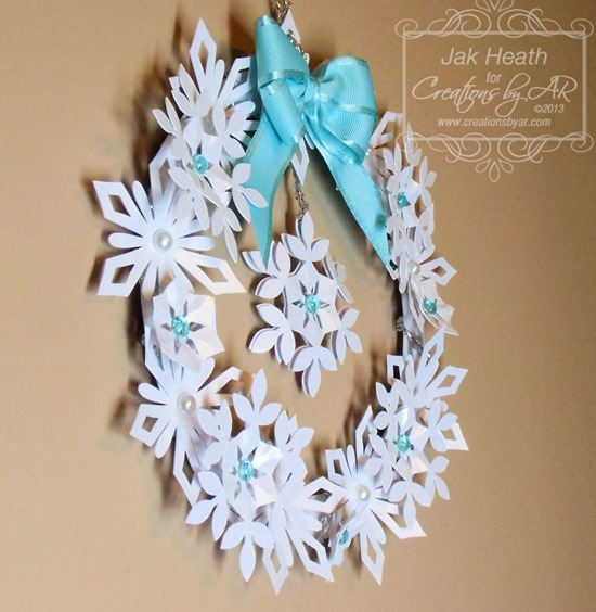 Snowflake Wreath2