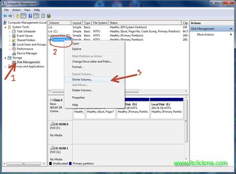 วิธีแบ่ง partition windows 7 โดยไม่ต้องใช้โปรแกรม-2
