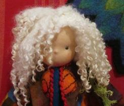 Puppenmädchen Detail