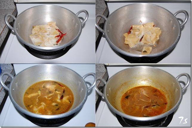 Appalam kuzhambu process