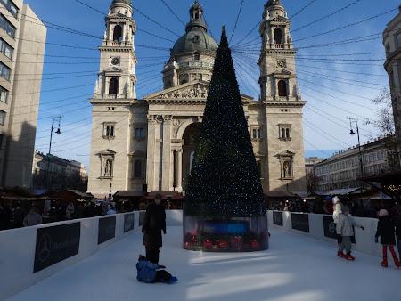 Piata Craciun Budapesta Mini-patinoar
