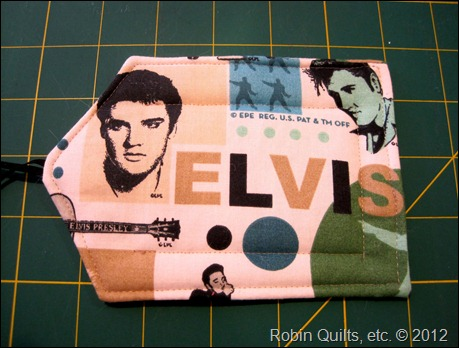 Elvis Bag Tag