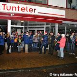 Rondgang Excelsior door Nieuwe Pekela met Stille Nacht - Foto's Harry Wolterman
