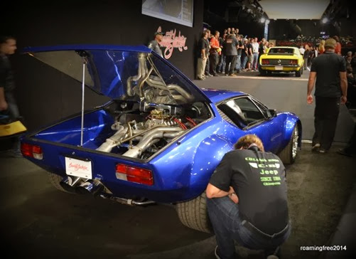 Dennis checking out the Pantera