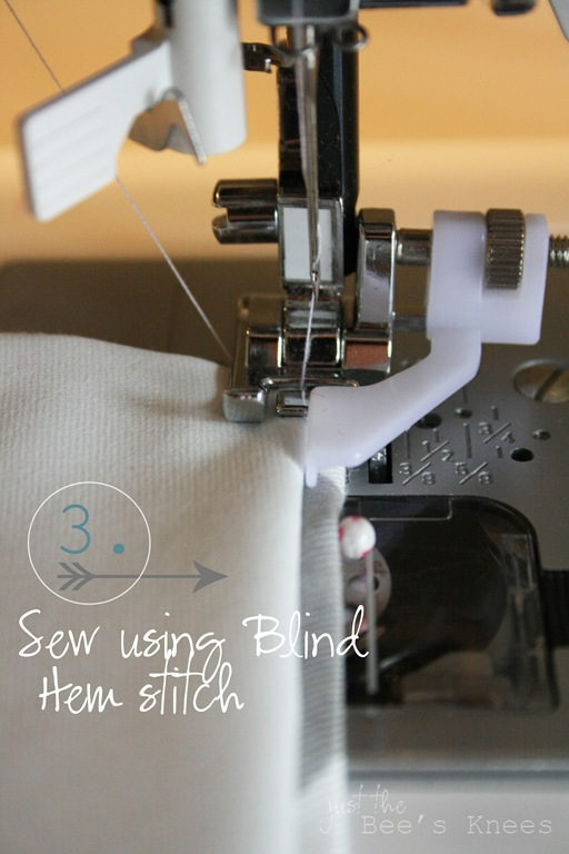 machine blind hem