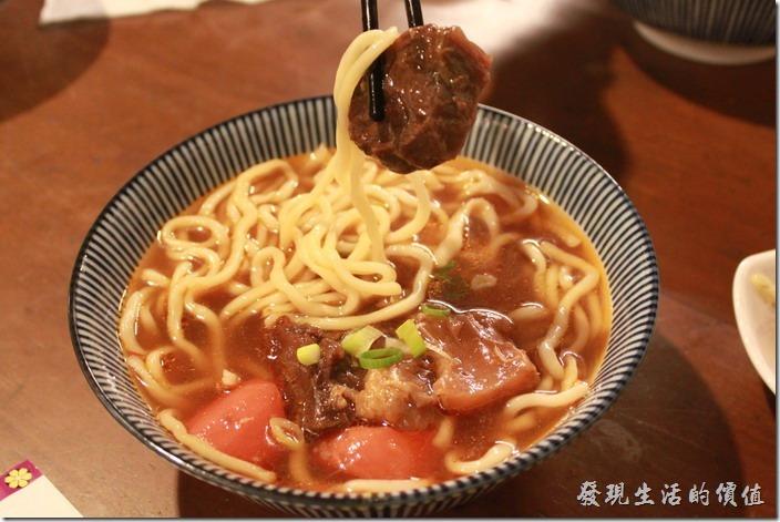 台東-甘盛堂,牛肉筋麵