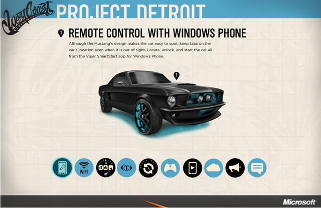 Kereta Ford Mustang 1967 diberi nafas baharu dengan teknologi Microsoft