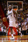 lebron james nba 130125 mia vs det 01 Boston Outlasts Miami in 2nd OT. LeBron Debuts Suede X PE!