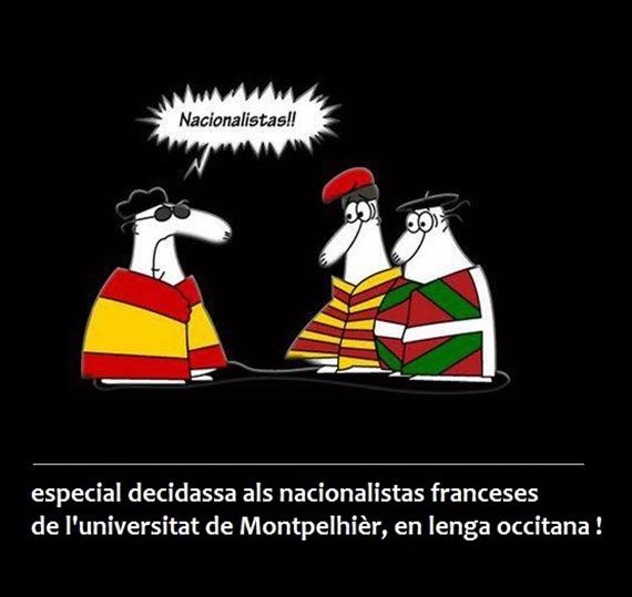 Nacionalistas franceses de Montpelhièr