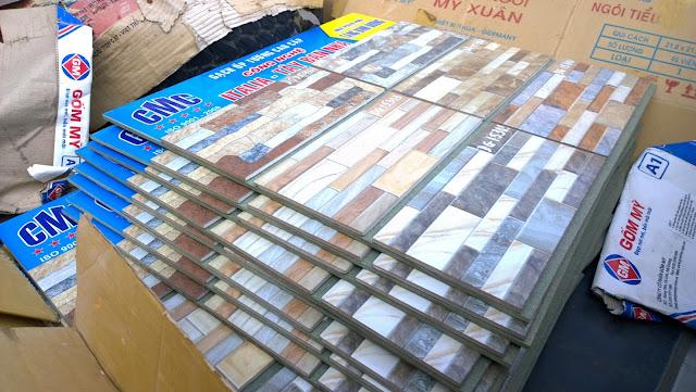Bảng mẫu gạch ốp tường cao cấp CMC