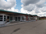 Mulu airport terminal building (copyright Dan Quinn / Royal Geographical Society (with IBG) September 2014)
