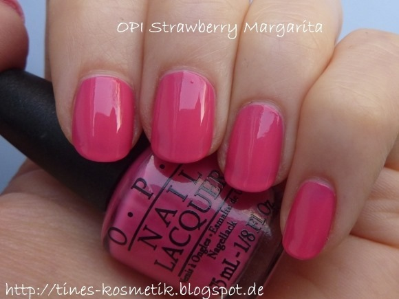 OPI Strawberry Margarita 1