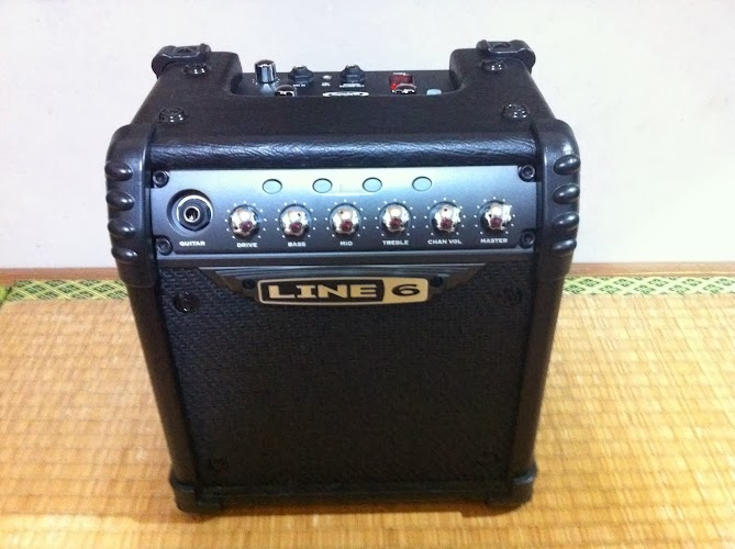 LINE6_MICROSPIDER_正面図