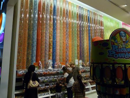 Obiective turistice Dubai: un munte de bomboane