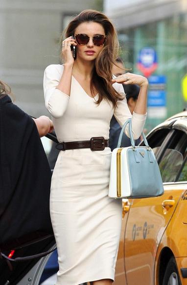 Modern Style Icon: Miranda Kerr via La Dolce Vita