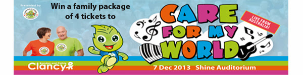 Care For My World Promo banner