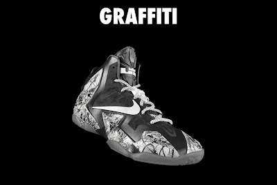 nike lebron 11 id graffiti 4 02 NIKEiD LeBron XI Graffiti in 7 Different Ways