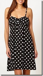 Polka Dot Jersey Summer Dress