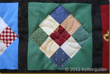 Quilt085-9-patches Detail
