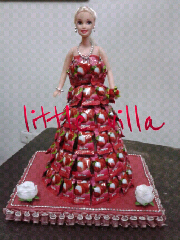 Wedding Membuat Kotak Coklat Gula Foto Artis Candydoll