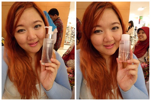 Priscilla Laneige Beautiful Blogger Challenge Cleanser
