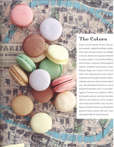 Finding inspiration everywhere, even in a pile of Macarons.