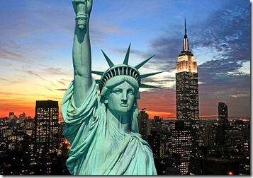 The-Statue-of-Liberty-and-New-York-City-skyline
