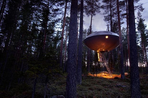 tree hotel by tham & videgard arkitekter 10