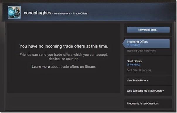 Dota 2 Trade Offers