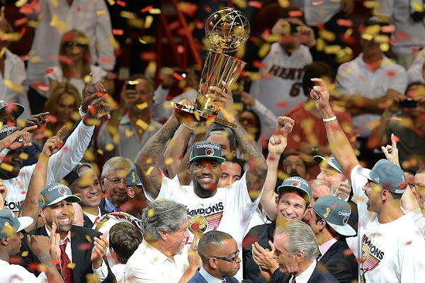 Gallery LeBron James8217 Triple Double Carries Heat to NBA Title