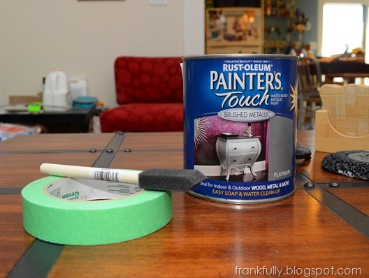 Rustoleum Painter's Touch Brushed Metallic in Platinum