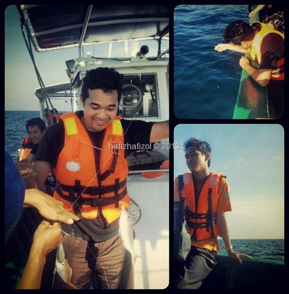 Program Survival Laut dan Penghayatan Warisan Edisi Media di Pulau Bidong Part II