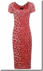 Isobel de Pedro Heart Print Dress