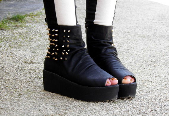 OASAP STUDDED BOOTS