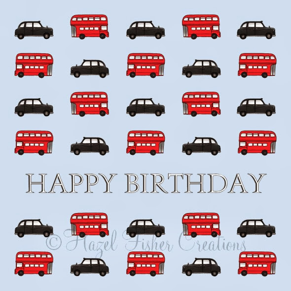 Birthday Card bus and taxi Phoenix published work 3