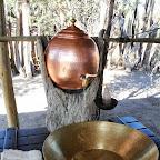 Meno a Kwena Tented Camp, Waschschüssel © Foto; Ulrike Pârvu | Outback Africa Erlebnisreisen
