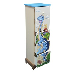 Teamson 5 drawer cabinet Dinosaur Design