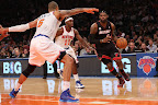 lebron james nba 121102 mia at nyk 03 King James wears 5 Colorways of Nike LeBron X in 6 Games
