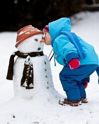 Снеговик Карлик Нос