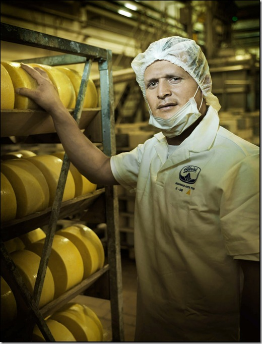 Cheese maker, Sopo, Colombia