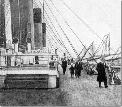 Second Class Passengers on the Titanic at Cobh