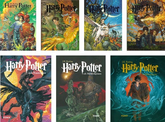 harry potter covers 2