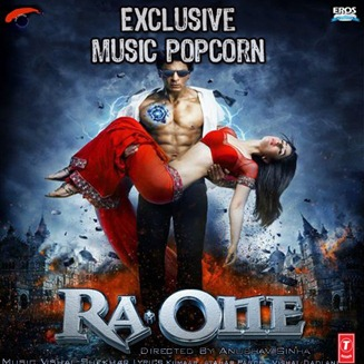 Shahrukh Khan & Kareena Ra.One poster copy of hollywood movie