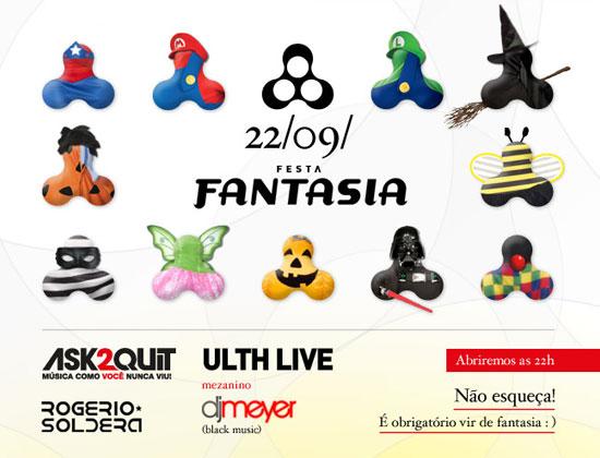 Festa Fantasia Anzu Club 2012