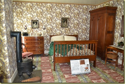 Mrs Lincoln's Bedroom