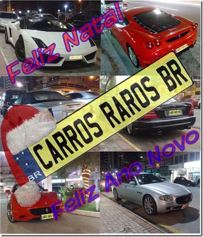 Feliz Natal Carros Raros BR