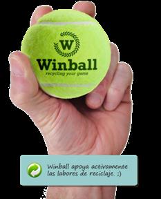 WINBALL un proyecto para todos. Reciclaje y personalización de pelotas de tenis y pádel.